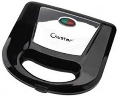 Owstar OWGT - 213 750 W Black Grill Toaster