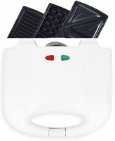 Clairbell Infinity Delight 750 Toaster & Griller & Waffle Maker Waffle(White)