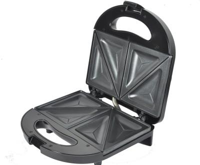 Tangerine Shinestar Fixed Sandwich Maker and Grill(Black)