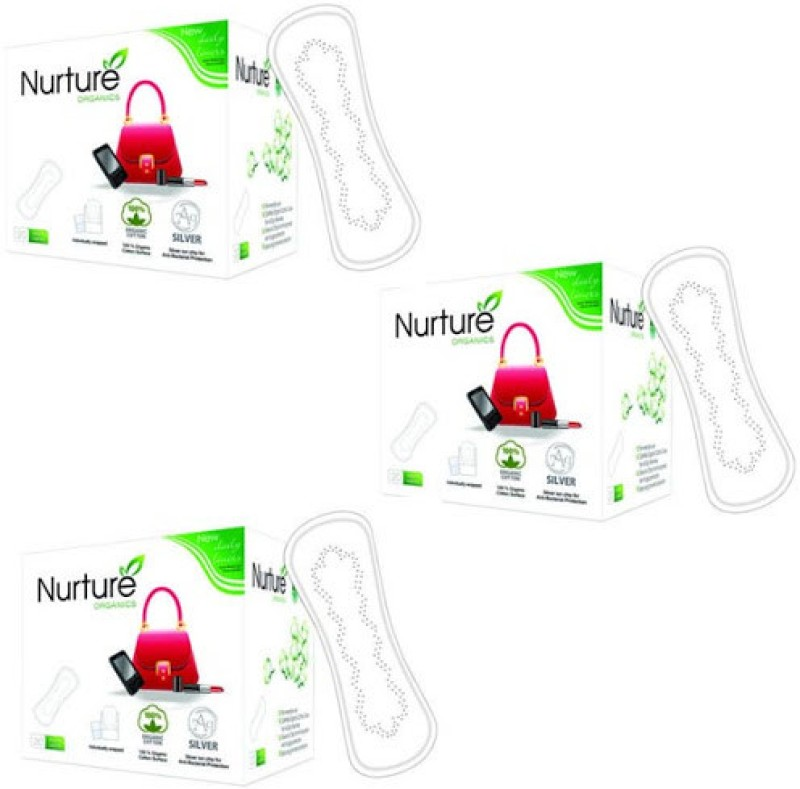 Nurture Chemical Free Daily Pantyliner(Pack of 60)
