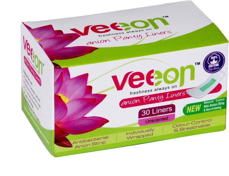 Veeon 100% Cotton 30S Pantyliner(Pack of 1)