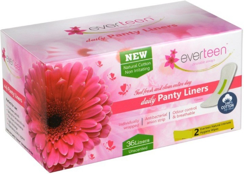 Everteen Daily Panty Liners Pantyliner(Pack of 36)