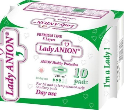 Lady Anion Ultra Clean Wings Sanitary Pad