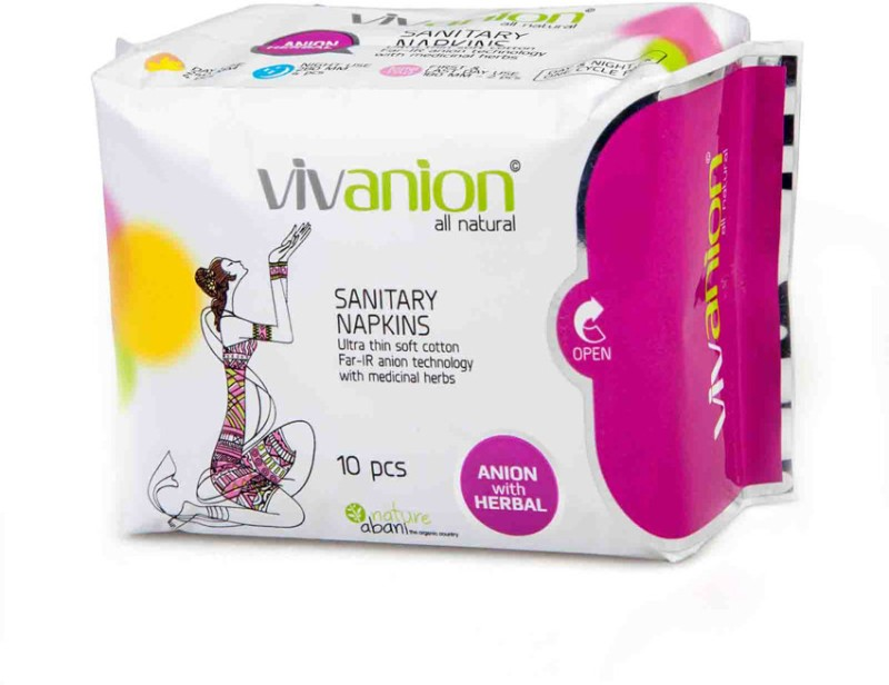 Vivanion One Cycle Sanitary Pad(Pack of 10)