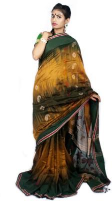 Taniis Self Design Bollywood Handloom Chiffon Sari