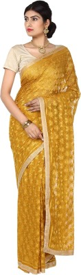 Ethnic Bliss Lifestyles Self Design Fashion Handloom Chiffon Sari