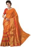 Radhika Creation Solid Fashion Tussar Si...