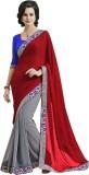 Melluha Embroidered Fashion Brasso Saree...