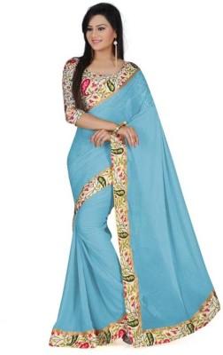 Ridhhi Self Design Daily Wear Chiffon Sari