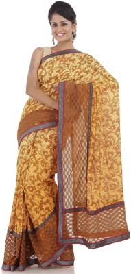 Chhabra 555 Self Design Fashion Net Sari
