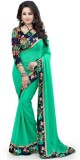 BollyLounge Printed Fashion Georgette Sa...