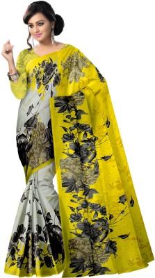 Komal Sarees Self Design, Printed Bollywood Chiffon, Georgette Sari