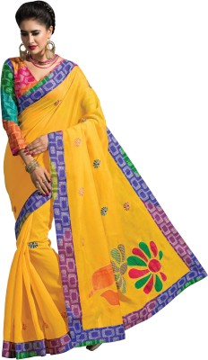 Aara Trendz Printed Bollywood Art Silk Sari