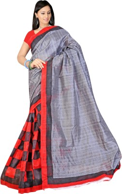 Shivam Prints Printed Daily Wear Art Silk Sari