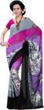 Womantra Floral Print Fashion Georgette ...