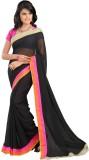 AVR FASHIONS Solid Fashion Chiffon Saree...