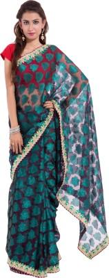 Wuba Solid Hand Batik Net Sari