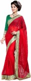 Setu Embroidered Fashion Brasso Saree (R...