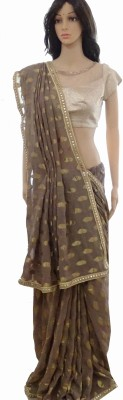 INDIANA FAB Embellished Fashion Georgette Sari
