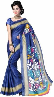 JVSN CREATION Self Design Fashion Pure Silk Sari