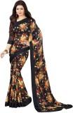 Brand vila Printed Bollywood Silk Sari