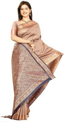 Ghasitaram Gifts Self Design Banarasi Art Silk Sari