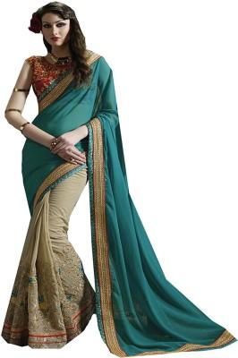 Saree Exotica Embriodered Fashion Georgette Sari