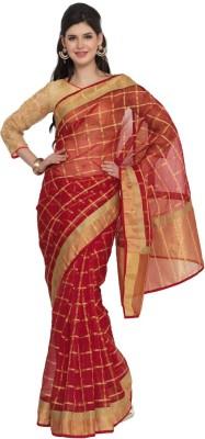 Moiaa Embellished Fashion Organza Sari