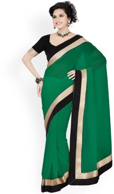 Scstore Plain Bollywood Georgette Sari