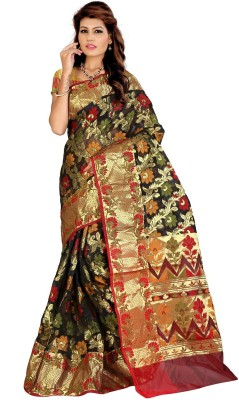 Pichkaree Self Design Banarasi Banarasi Silk Sari
