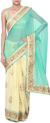 Kalki Embriodered Fashion Georgette Sari