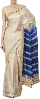 Kalki Embriodered Fashion Tussar Silk Sari