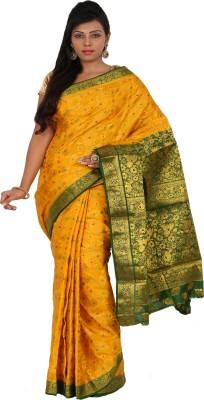 Alankrita Self Design Kanjivaram Art Silk, Jacquard, Silk Sari