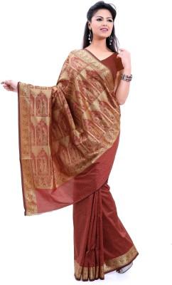 Sagar Exports Self Design Baluchari Poly Silk Sari