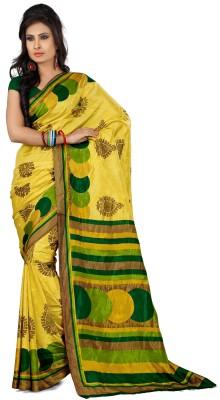 DESIGN WILLA Printed Fashion Crepe Sari