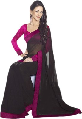 Yaari Fashion Self Design Daily Wear Georgette Sari