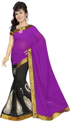 Varudi Saree Embriodered Bollywood Chiffon Sari