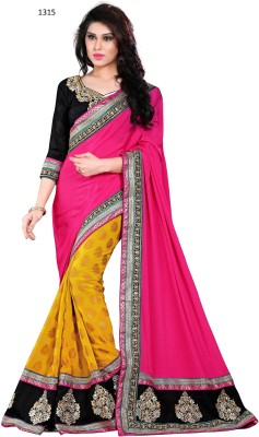 Naresh Sarees Embriodered Daily Wear Viscose Sari