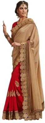 SFC Solid Fashion Synthetic, Viscose Sari