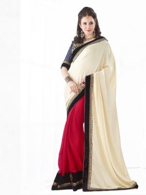 Royal Choice Embriodered Fashion Georgette Sari