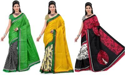 Divazz Printed Bhagalpuri Art Silk Sari