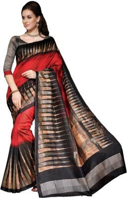 Padam Creation Printed Bhagalpuri Art Silk Sari