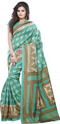 Varanga Printed Fashion Dupion Silk Sari