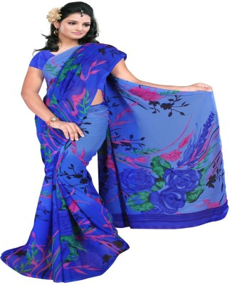 Kristel Garments Printed Bollywood Georgette Sari