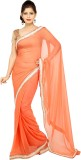 TANVIINDIA Self Design Fashion Chiffon S...
