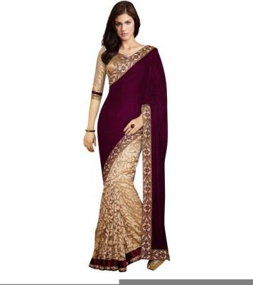 Nena Fashion Embriodered Bollywood Velvet Sari