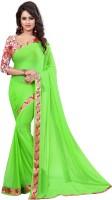 Twinsbirds Embellished Fashion Nylon Sari
