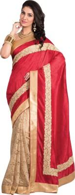 Kuberan Embriodered Fashion Raw Silk Sari