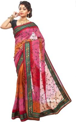 RBSarees Embriodered Fashion Pure Georgette Sari