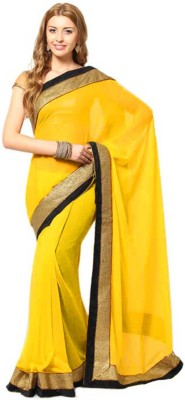 Jhankar Fab Self Design Bollywood Velvet Sari